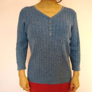 Karen Scott Marled Sweater